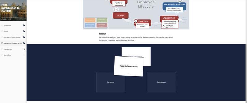interactive recaps example