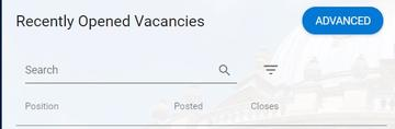 vacancy search ess